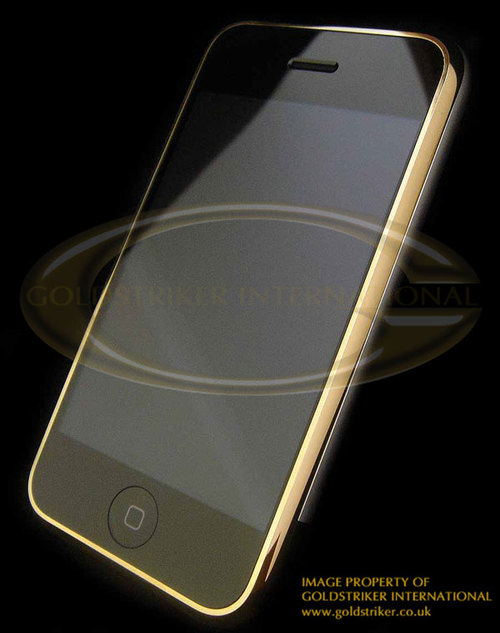 Gold iPhone 24 Carat