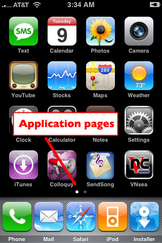 iPhone App Pages